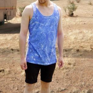 'Blue Crystal' Vest Design