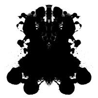 Rorschach Ink Blot Logo