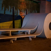 Toilet Roll Bench // Canon 5D