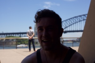 Ed at The Sydney Harbour Bridge