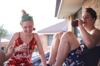 Breanna and Curtis celebrating Christmas Day