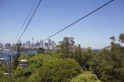 Cable car with the best view of Sydney