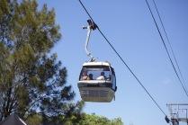 Cable car at Taronga Zoo