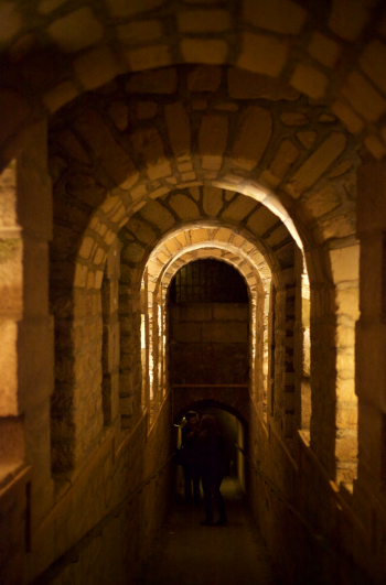 Tunnel in The Catacombs