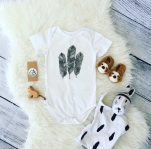 Feather Onesie