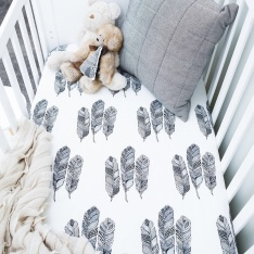 Feather Cot Sheet