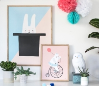 bunny and cycling bear Michelle Carlslund web
