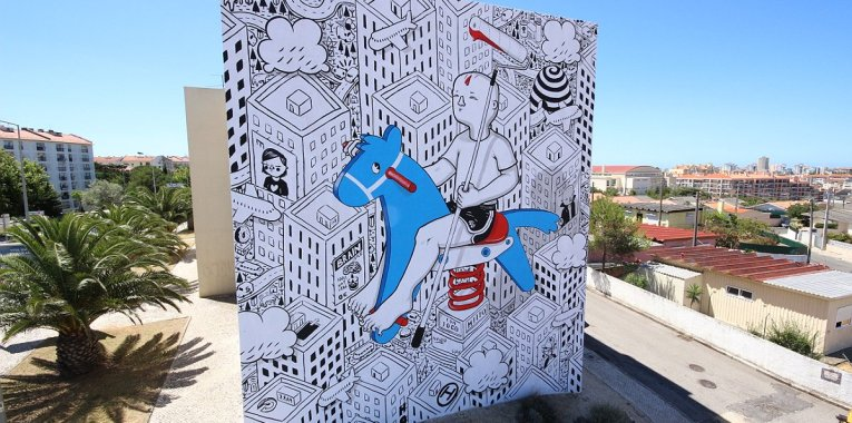 interview with millo artist muralist deck studios